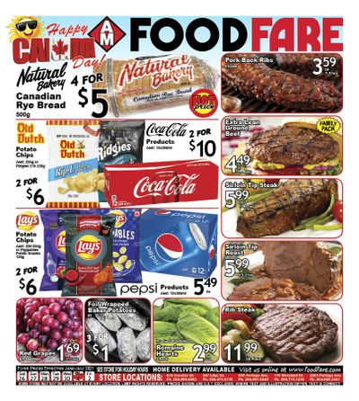 Food Fare Flyer June 26 to July 2