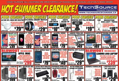 TechSource Flyer June 25 to July 29