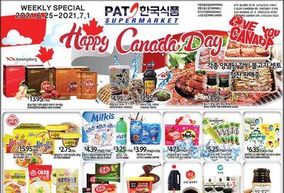 PAT Mart Flyer June 25 to July 1