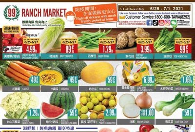 99 Ranch Market (CA) Weekly Ad Flyer June 25 to July 1