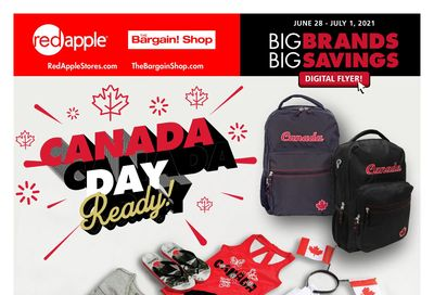 The Bargain Shop & Red Apple Stores Flyer June 28 to July 1