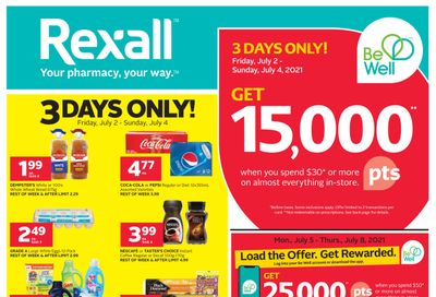 Rexall (ON) Flyer July 2 to 8