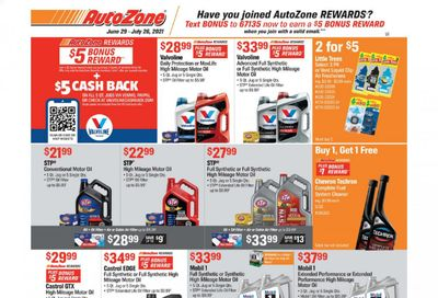 Autozone Weekly Ad Flyer June 29 to July 26