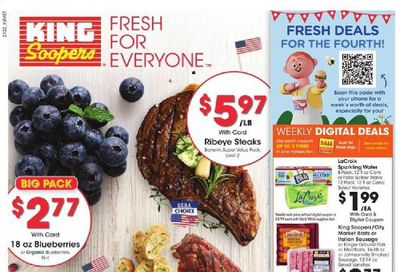 King Soopers (CO) Weekly Ad Flyer June 30 to July 6