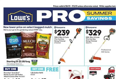 Lowe's Weekly Ad Flyer June 28 to July 2