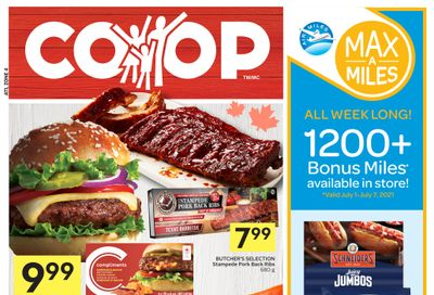 Foodland Co-op Flyer July 1 to 7
