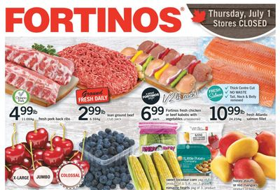 Fortinos Flyer July 1 to 7