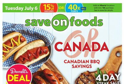 Save on Foods (AB) Flyer July 1 to 7