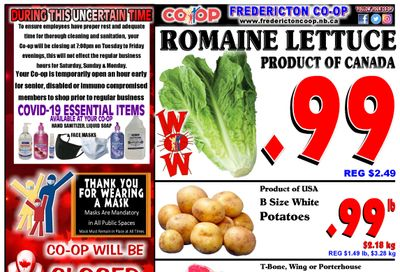 Fredericton Co-op Flyer July 1 to 7