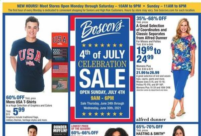 Boscov's (CT, DE, MD, NJ, NY, PA) Weekly Ad Flyer June 24 to June 30