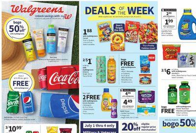 Walgreens Weekly Ad Flyer July 4 to July 10
