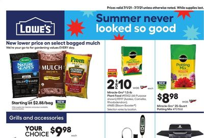 Lowe's Weekly Ad Flyer July 1 to July 7