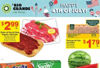 El Rio Grande (10, 21, 25, 30, 34, 53, 90) Weekly Ad Flyer June 30 to July 6