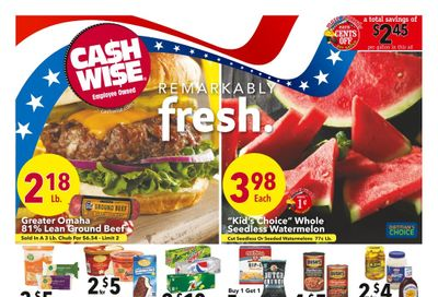 Cash Wise (MN, ND) Weekly Ad Flyer June 30 to July 6
