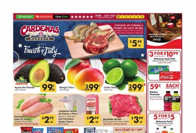 Cardenas (CA, NV) Weekly Ad Flyer June 30 to July 6
