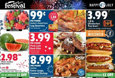 Festival Foods (WI) Weekly Ad Flyer June 30 to July 6