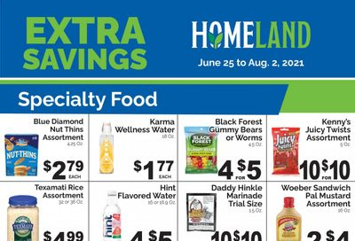 Homeland (OK, TX) Weekly Ad Flyer June 25 to August 2