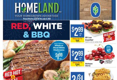 Homeland (OK, TX) Weekly Ad Flyer June 30 to July 6