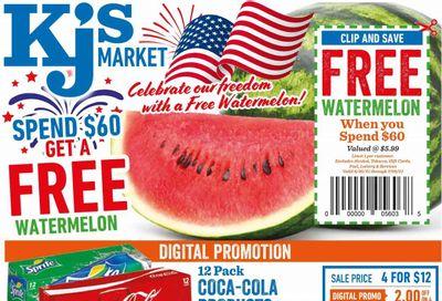 KJ´s Market (GA, SC) Weekly Ad Flyer June 30 to July 6