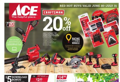 ACE Hardware Weekly Ad Flyer June 30 to July 31