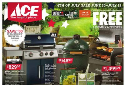 ACE Hardware Weekly Ad Flyer June 30 to July 12