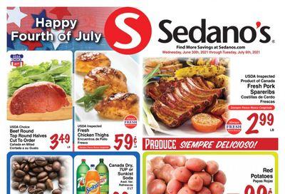 Sedano's (FL) Weekly Ad Flyer June 30 to July 6