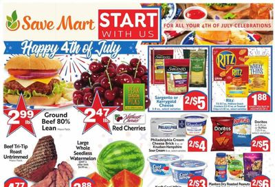 Save Mart (CA, NV) Weekly Ad Flyer June 30 to July 6