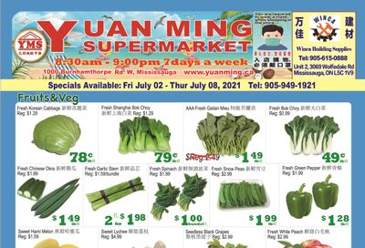 Yuan Ming Supermarket Flyer 2 to 8