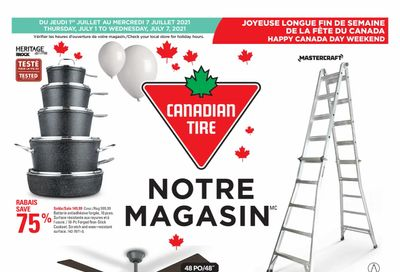 Canadian Tire (QC) Flyer July 1 to 7