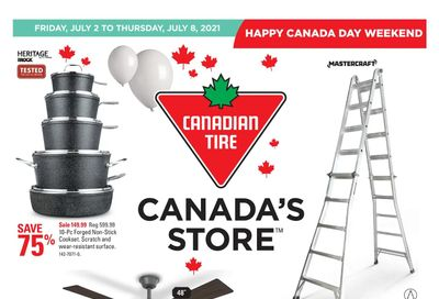Canadian Tire (West) Flyer July 2 to 8