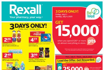 Rexall (West) Flyer July 2 to 8