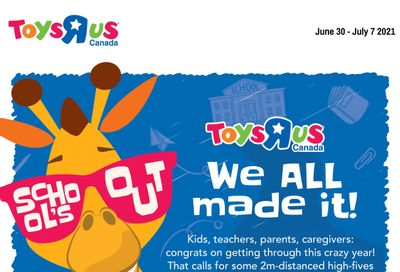 Toys R Us Flyer June 30 to July 7
