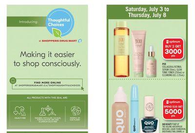 Shoppers Drug Mart (West) Flyer July 3 to 8