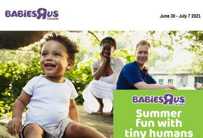 Babies R Us Flyer June 30 to July 7