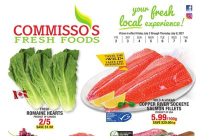 Commisso's Fresh Foods Flyer July 2 to 8
