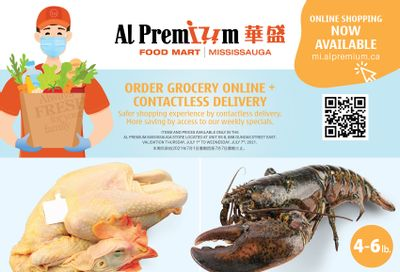 Al Premium Food Mart (Mississauga) Flyer July 1 to 7