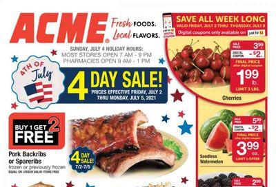 ACME (DE, NJ, NY, PA) Weekly Ad Flyer July 2 to July 8
