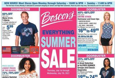 Boscov's (CT, DE, MD, NJ, NY, PA) Weekly Ad Flyer July 1 to July 7