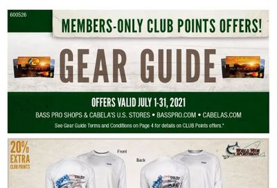 Bass Pro Shops Weekly Ad Flyer July 1 to July 31