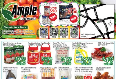 Ample Food Market (North York) Flyer July 2 to 8
