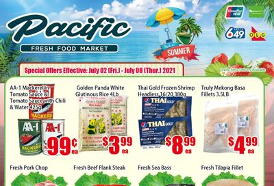 Pacific Fresh Food Market (North York) Flyer July 2 to 8