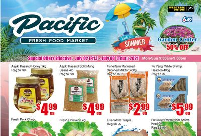 Pacific Fresh Food Market (Pickering) Flyer July 2 to 8