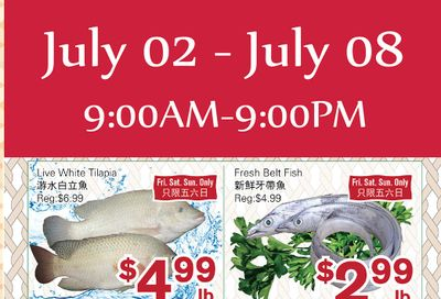 First Choice Supermarket Flyer July 2 to 8