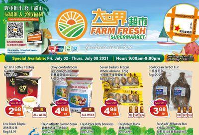 Farm Fresh Supermarket Flyer July 2 to 8