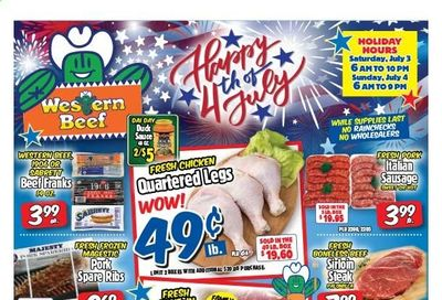 Western Beef (FL, NY) Weekly Ad Flyer July 1 to July 7