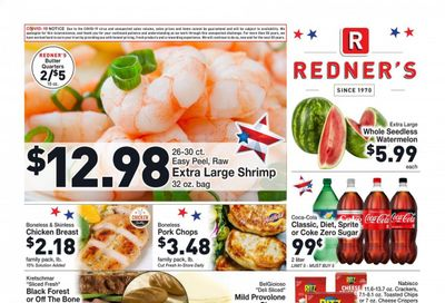 Redner's Markets (DE, MD, PA) Weekly Ad Flyer July 1 to July 7
