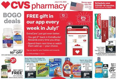 CVS Pharmacy Weekly Ad Flyer July 4 to July 10