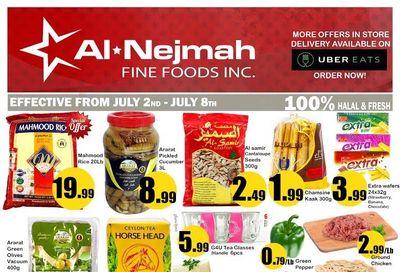 Alnejmah Fine Foods Inc. Flyer July 2 to 8