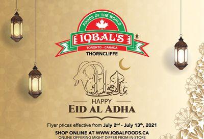 Iqbal Foods Flyer July 2 to 13