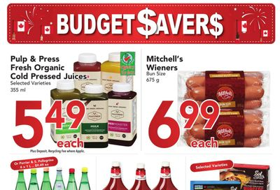 Buy-Low Foods Budget Savers Flyer June 27 to July 24